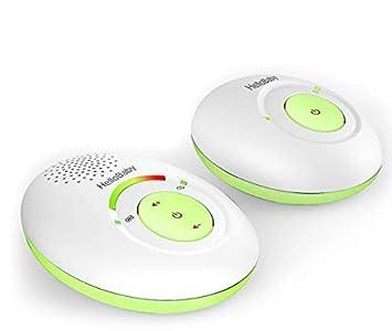 HelloBaby HB178 Audio Baby Monitor with up to 1,000 ft of Range, 5-Level Sound Indicator, Digitized Transmission, One Way Audio