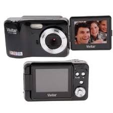 Cheap Vivitar iTwist X028 Digital Camera Graphite Black
