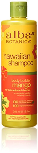 Alba Botanica Hawaiian Hair Wash Moisturizing Mango - 12 Fl