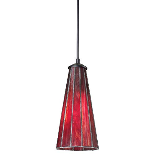 Red And Black Pendant Lighting