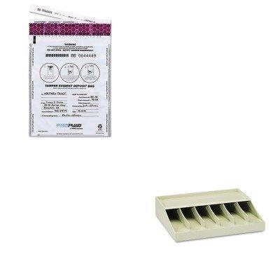 KITMMF210470089MMF236210306 - Value Kit - MMF FREEZFraud Bags (MMF236210306) and MMF Bill Strap Rack (MMF210470089)