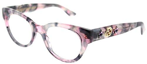 (Gucci Women's Gg0209o-30001771003 48Mm Optical Frames)