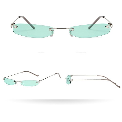 FORUU Glasses, Women Man Vintage Transparent Small Frame Sunglasses Retro Eyewear Fashion 2019 Summer Newest Arrival Beach Holiday Party Trendy Best Gifts For Wife Under 5 Dollars Free ()