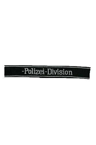 WW2 GERMAN Elite 4th Pz.Gren. div.Polizei EM/NCO cuff title