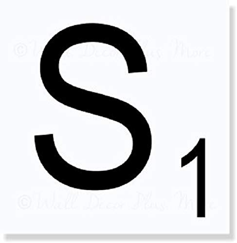 Choose Your Scrabble Letters Create Words Custom Farmhouse Wall Home Décor Option 1: 1-2 Letters