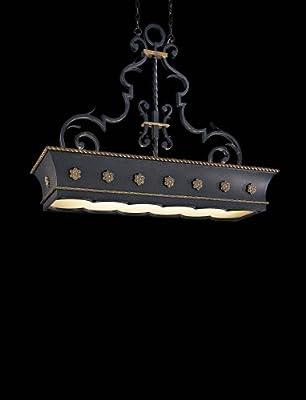 Metropolitan N6107-20, Montparnasse Large Pendant, 12 Light, 720 Total Watts, Black