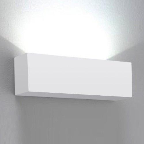 Aplique de cerámica de 40w MiniSun con iluminación superior