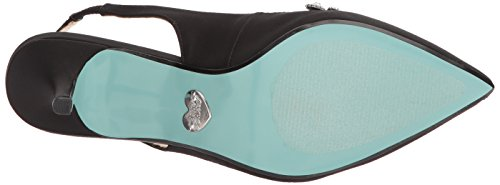 Blue Av Betsey Johnson Womens Sb-cici Pumpe Svart Satin