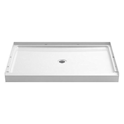 STERLING 72321100-0 48 In. W x 34 In. L Shower Base, White