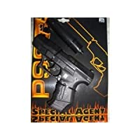 Special Agent P99 Wicke Toy With Silencer For Fancy Dress + Role Play