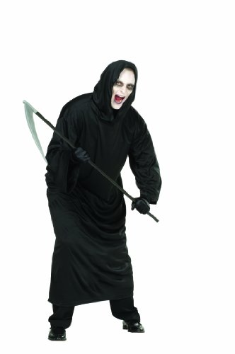 (RG Costumes Ghoul Robe, Black, One Size)