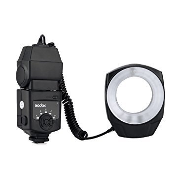 Digital Macro Ring - Godox ML-150 Macro Ring Flash Light GN10 with 6 Lens Adapter Rings for Canon Nikon Pentax Olympus DSLR cameras
