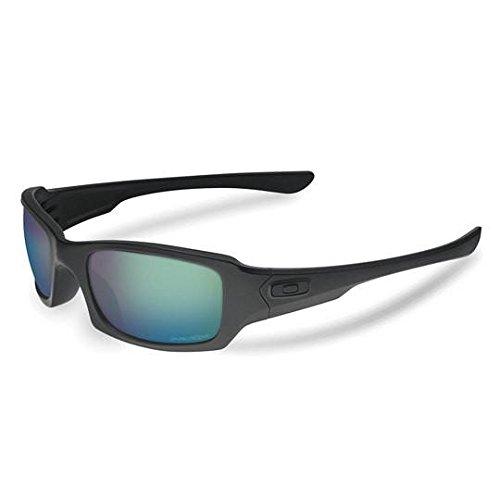 Oakley SI Fives Squared Prizm Matte Black Frame/Maritime Polarized ()