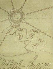(Reprint) Yearbook: 1954 Midwestern State University - Wai Kun Yearbook (Wichita Falls, - Stores Wichita Falls Tx