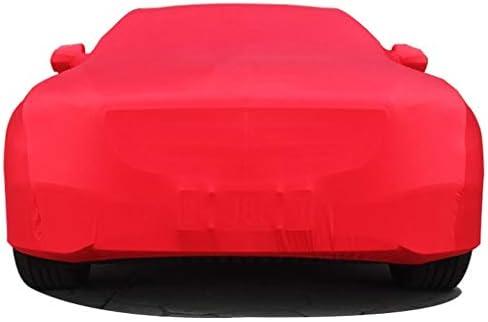 BMW 6シリーズGTストレッチ生地屋内屋外のカーカバーSunproof防塵フォーシーズンズ利用可能なカーシールドと互換性 (Color : Red, Model : 640i xDrive)