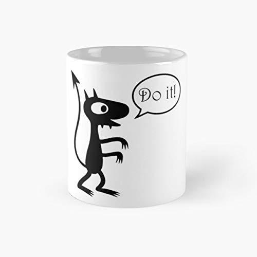 Luci Do It - Disenchantment Mug, luci Cup, 11 Ounce Ceramic Mug, Perfect Novelty Gift Mug, Funny Gift Mugs, Funny Coffee Mug 11oz, Tea Cups -