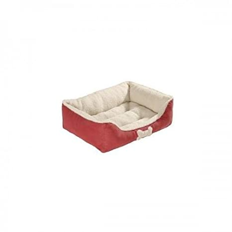 Hunter sofá Aspen tamaño: 60 x 80 cm rojo, Cama para perro, Cojín para perro: Amazon.es: Productos para mascotas