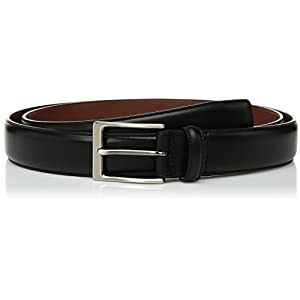 Perry Ellis Men's Big and Tall Portfolio Amigo Dress Belt, Black, 44
