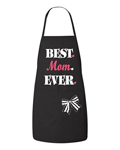 - FASCIINO - Best (Dad, Mom, Aunt, Uncle, Grandma, Grandpa) Ever Apron with Two Pockets for Kitchen BBQ Cooking Baking Crafting