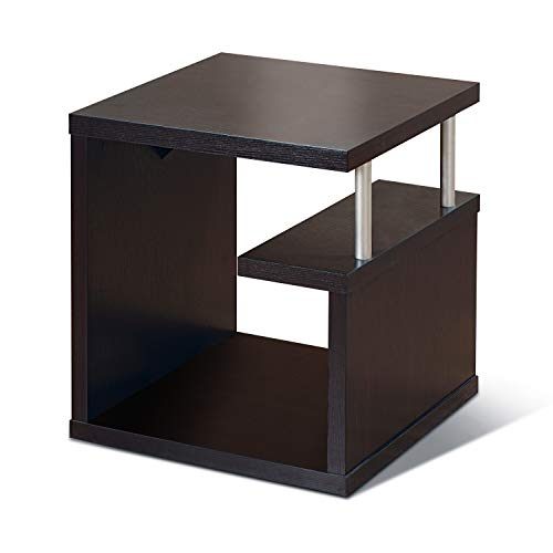 ioHOMES Level End Table, Espresso