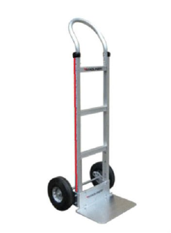 Hand Truck Aluminum Hand truck with Solid 18'' Nose & Air Tires 111-G1-1060 by Magline Modular (Image #1)