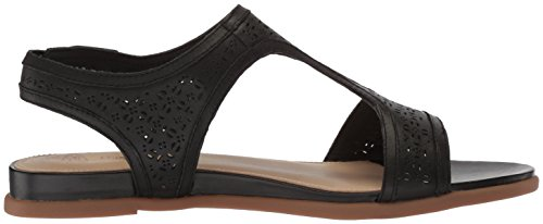 Dalmation Black Women's Hush Strap Puppies T Fashion Sandals HCEPwzxE