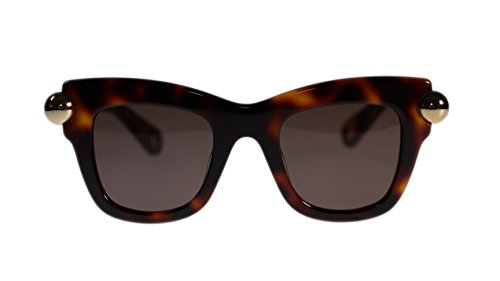 christopher-kane-sunglasses-ck0006s-002-havana-with-brown-lens-square-46mm-authentic