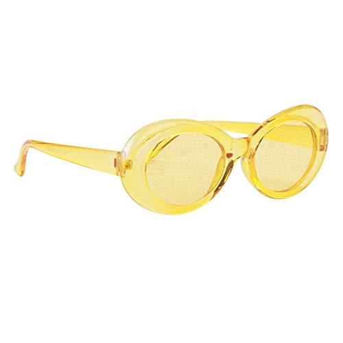 Lunettes Kurt Cobain Jaune De Sharplace Couleurs Soleil Style 5 17qT4w