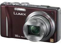 """Panasonic Lumix DMC-TZ20EG-T - Cámara digital compacta 14 MP (Zoom 16x, pantalla táctil de 3"""", 24mm, Leica) - marrón"""