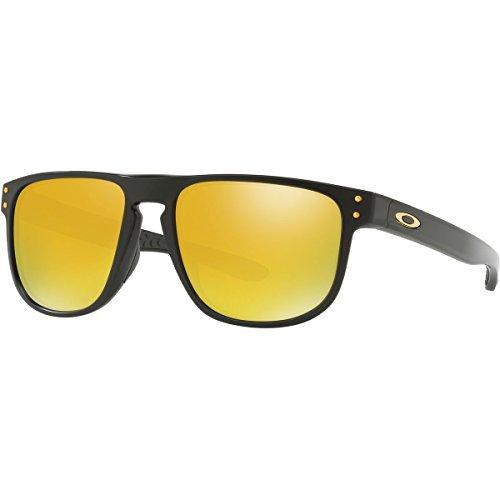 Oakley Men's Holbrook R Non-Polarized Iridium Square Sunglasses, Matte Black, 55.0 - Black Black Iridium Lens Matte Holbrook Oakley Sunglasses