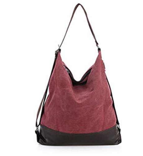 4b091a31a7ec Amazon.com: Ganabag Canvas Women Bag Casual Messenger Bags Tote ...