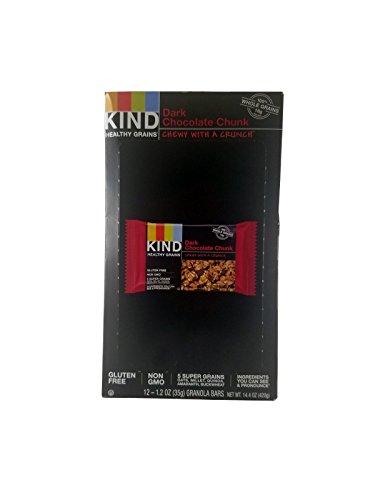 KIND Healthy Grains Bar Dark Chocolate Chunk 1.2 oz, 24-count