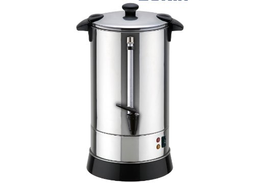 Double Walled Hot Water Urn with Shabbat Switch (40, 50, and 100 (50 Cup Stainless Urn)