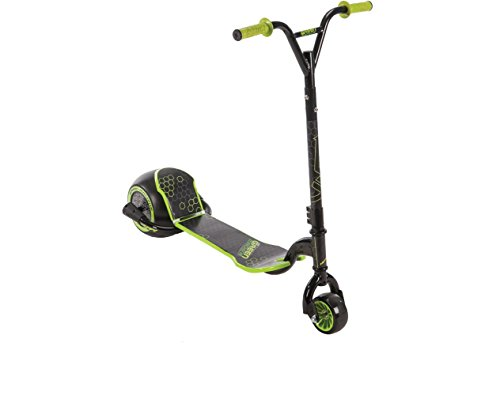 Huffy Green Machine Drift Scooter, Black/Green]()