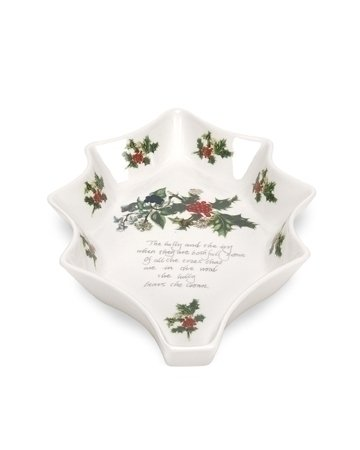 Portmeirion Holly and Ivy Leaf Dish