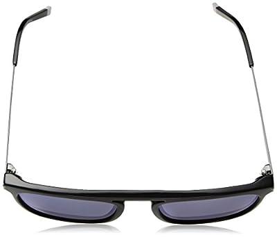 Calvin Klein Men's Ck1239s Square Sunglasses, Black, 54 mm