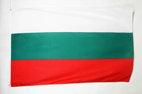 BULGARIA FLAG 3' x 5' - BULGARIAN FLAGS 90 x 150 cm - BANNER 3x5 ft - AZ (Bulgaria Flag)
