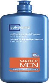 Active Control Anti Dandruff Shampoo - Matrix Men Active Control Anti-Dandruff Shampoo 13.5 oz (Pack of 2)