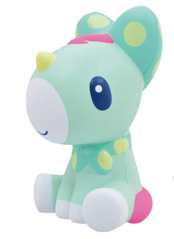 iBloom Slow Rising [Squishy Collection] Unicorn Muscat [Scented] Animal Squishy Kids Cute Adorable Doll Stress Relief Toy Decorative Props [Emerald]