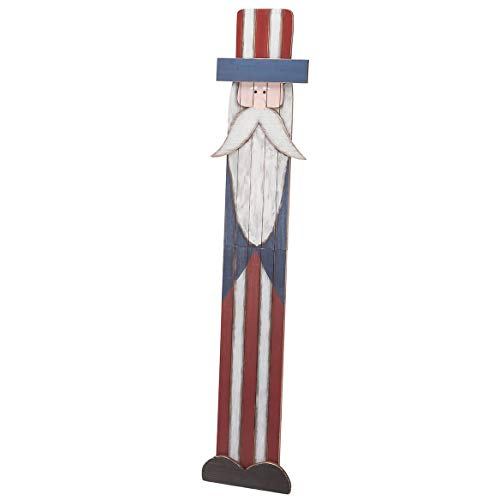 (Fox Valley Traders Uncle Sam Folding Wood Sign)