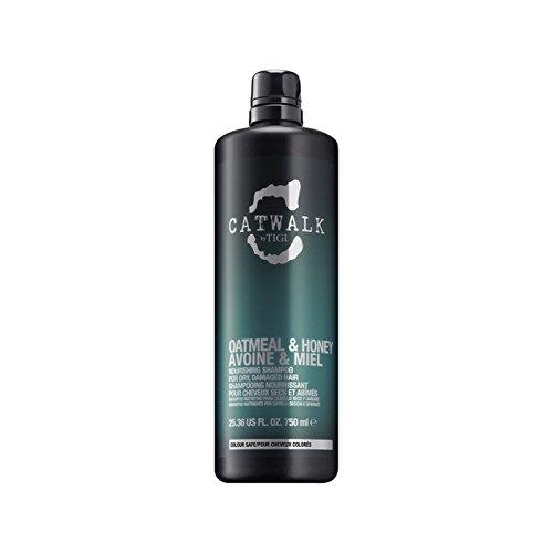 ティジーキャットウォークオートミール&ハニー栄養シャンプー(750ミリリットル) x4 - Tigi Catwalk Oatmeal & Honey Nourishing Shampoo (750ml) (Pack of 4) [並行輸入品] B0718YZ6T5