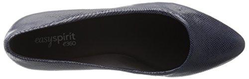 para Avery6 Spirit Puntiagudos Easy azul Reptile Zapatos Mujer marino Planos Fqgxn6X