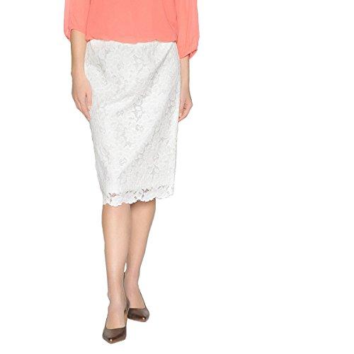 La Redoute Womens Guipure Lace Skirt White Size US 10 ()