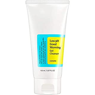 COSRX Low pH Good Morning Gel Cleanser, 5.07 fl.oz / 150ml | Mild Face Cleanser | Korean Skin Care, Vegan, Cruelty Free, Paraben Free