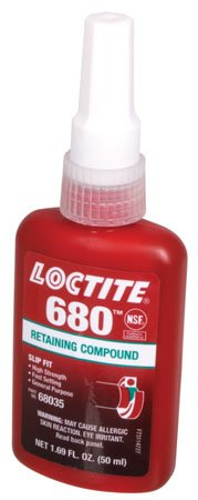 250ml., (Green), Maximum Strength, LOCTITE Retaining Compound (1 Each) by RSC