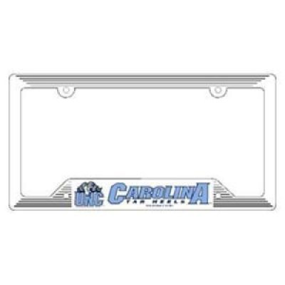 WinCraft North Carolina Tar Heels Plastic License Plate Frame