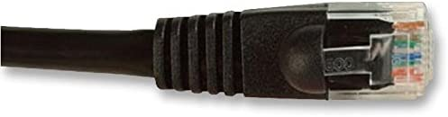 8 m Ethernet Cable Cat5e Pack of 5 Cat5e Black 2965-8BK 26.25 ft RJ45 Plug 2965-8BK RJ45 Plug