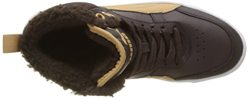 Puma Rebound Street V2 Fur Jr, Zapatillas Unisex Niños Marrón (Black Coffee-taffy)