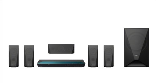 Sony 5.1 Channel Blu-ray Home Theater System with Bluetooth (Set of Six, Black) by Sony (Image #3)