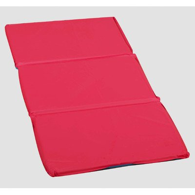 "3 Section Infection Control Mat Thickness: 1"", Color: Red/Blue -  Children's Factory, CF400-502RB"
